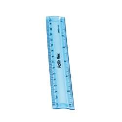 Vonalzó Deli egyenes 15 cm hajlítható