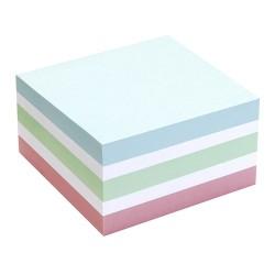 Öntapadós jegyzettömb Info Notes 75x75 mm 400 lapos vegyes színek