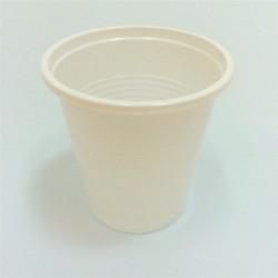 Pohár műanyag 1 dl 100 db/csomag fehér
