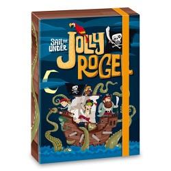 Füzetbox Ars Una A/4 Jolly Roger (806) 17