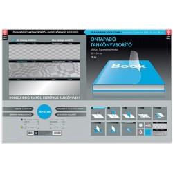 Tankönyvborító Ars Una 50x33 cm öntapadós áttetsző geometrikus 10 db/cs