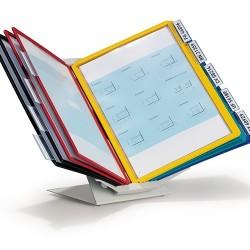 Bemutatótábla-tartó Durable Vario fali 10 db-os