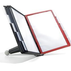 Bemutatótábla tartó Durable Sherpa asztali, 10 db panellel