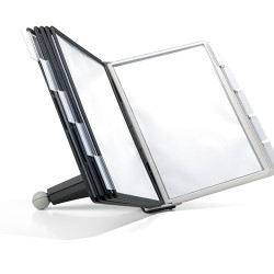 Bemutatatótábla tartó Durable Sherpa asztali, 10 db panellel