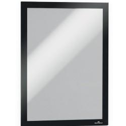 Infokeret Durable Duraframe A/4 fekete egyesével csomagolva