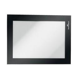 Infokeret Durable Duraframe A/6 fekete egyesével csomagolva
