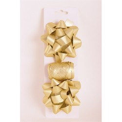 Masni szett glitteres arany 2 db masni+kötöző 10m-es/csomag
