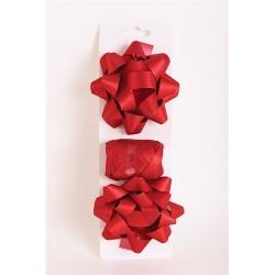 Masni szett glitteres piros (2db masni+kötöző 10m-es)