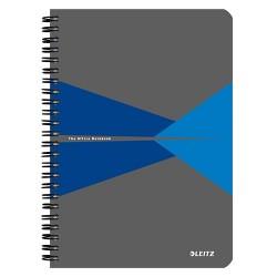Spirálfüzet Esselte A/5 Office PP borítóval vonalas, kék+ Cello toll