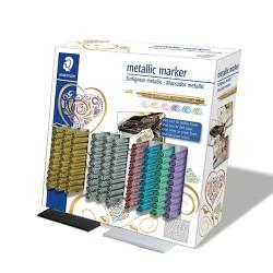 Marker Staedtler dekor 8323 6 szín 100 db-os displayben