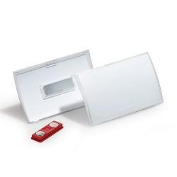 Névkitűző Durable Click Fold 54x90 mm mágneses rögzítéssel