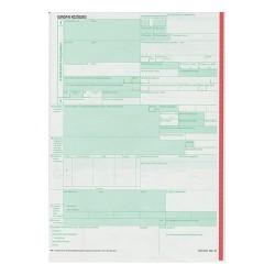 Vámárunyilatkozat árutovábbítás 3 lapos garn.