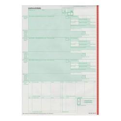 Vámárunyilatkozat árutovábbítás pótlap 3 lapos garn.