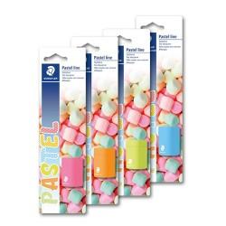 Hegyező Staedtler Pastel Line 1 lyukú műanyag bliszter