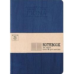 Napló Pigna Vintage 12x17 cm 96 lapos vonalas kék