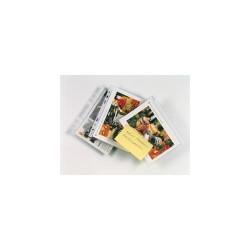 Lefűzhető tasak Esselte A/5 (spec. méretű) 40 mic. narancsos 100 db/csomag
