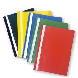 Gyorsfűző PP pd A/4 5 db/csomag irodai színek