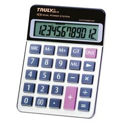 Számológép Truly 828-12 asztali