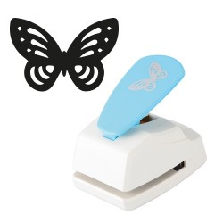 Kreatív formalyukasztó pd 45x35 mm 3D pillangó