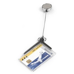 Biztonsági kártyatok kihúzható tartóval DURABLE DE LUXE
