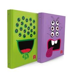 Gyűrűs könyv Pigna M. Team A/4 4 gyűrűs 40 mm gerinccel