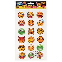 Kreatív dekormatrica Centrum Emojidex 18 db/bliszter