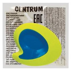 Radír Centrum neon mondatfelhő 50x42 mm