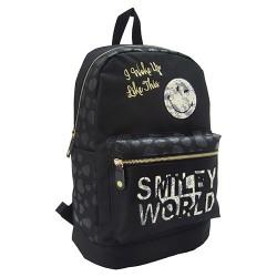 Hátitáska Smiley Lace fekete