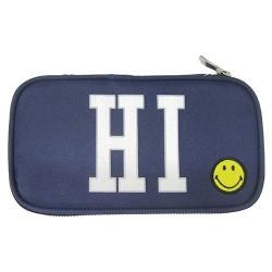 Tolltartó Smiley kompakt szögletes kék
