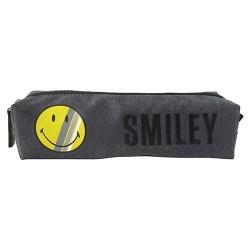 Tolltartó Smiley ovális sötét szürke