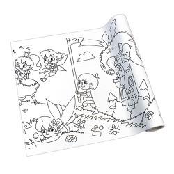 Kreatív öntapadós nyomott papír Info Creative 300 mm x 4 m Mese