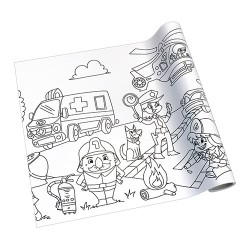 Kreatív öntapadós nyomott papír Info Creative 300 mm x 4 m Életmentők