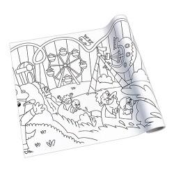 Kreatív öntapadós nyomott papír Info Creative 300 mm x 4 m Vidámpark