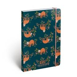 Jegyzettömb BFF minibook gumis A/6