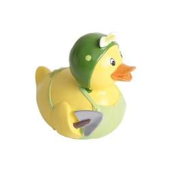 Ajándék figura kacsa fiú zöld/sárga 8 cm 2 féle ( polirezin )