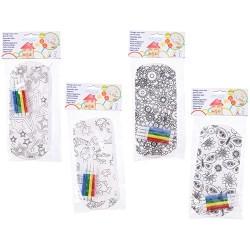 Tolltartó textil színezhető 4 féle minta