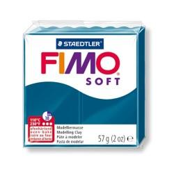 Kreatív kiégethető gyurma Fimo Soft 57g Kalipszó kék
