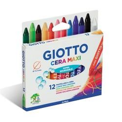 Zsírkréta Giotto Cera Maxi 12 db-os készlet