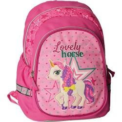 Hátitáska Play Prime Lovely Horse anatómiai pink