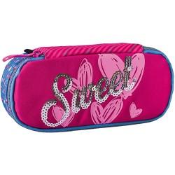 Tolltartó Play B32 Sweet Pink kompakt rózsaszín