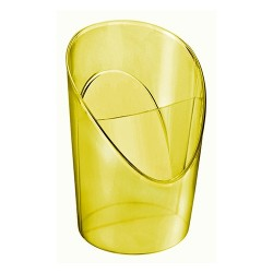 Írószertartó asztali Esselte Colour Ice áttetsző sárga