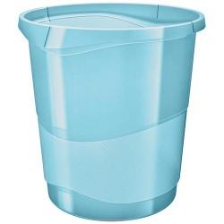 Papirkosár Esselte Colour Ice 14l áttetsző kék