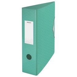 Iratrendező Esselte Colour Ice Polyfoam A4 75mm zöld