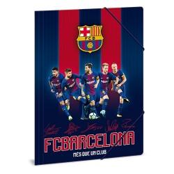 Gumis mappa karton Ars Una A/4 FCBarcelona (853) 18