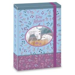 Füzetbox Ars Una A/5 40 mm gerinccel Fairy Manor (851) 18