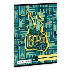 Füzet Ars Una kisalakú 12-32 vonalas Big City (843) 18