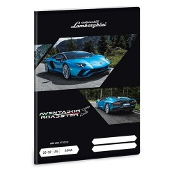 Füzet Ars Una kisalakú 20-32 sima Lamborghini (850) 18