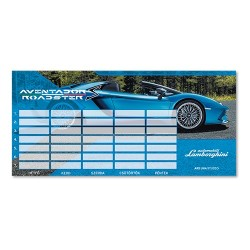 Órarend Ars Una Lamborghini (835) 18