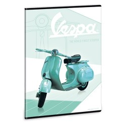 Füzet Ars Una nagyalakú extra kapcsos 40 lapos négyzethálós Vespa Retro (874) 18