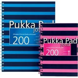 Spirálfüzet A/4 Pukka Pad 200 oldalas vonalas 6674-NVY